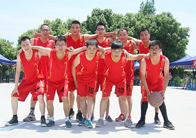 壹品歐迪辦公家具第二屆文化節籃球比賽
